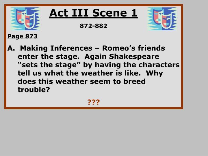 Act III Scene 1
