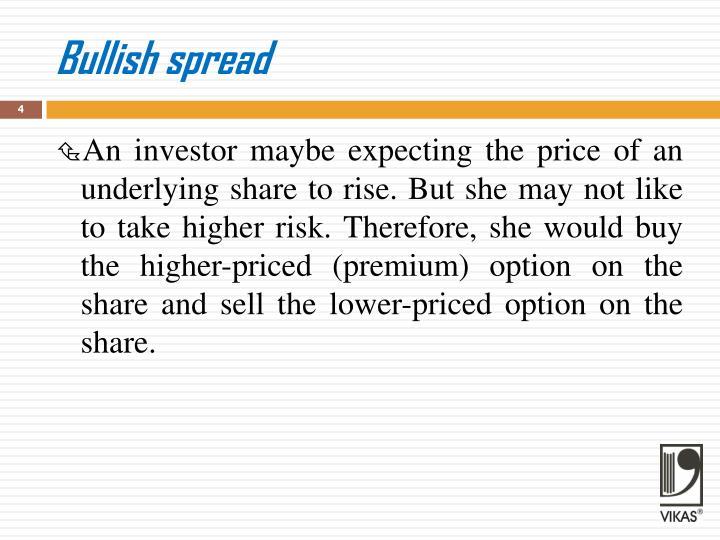 Bullish spread
