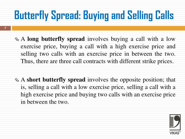 Butterfly Spread: Buying and Selling Calls