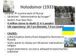 holodomor 1933
