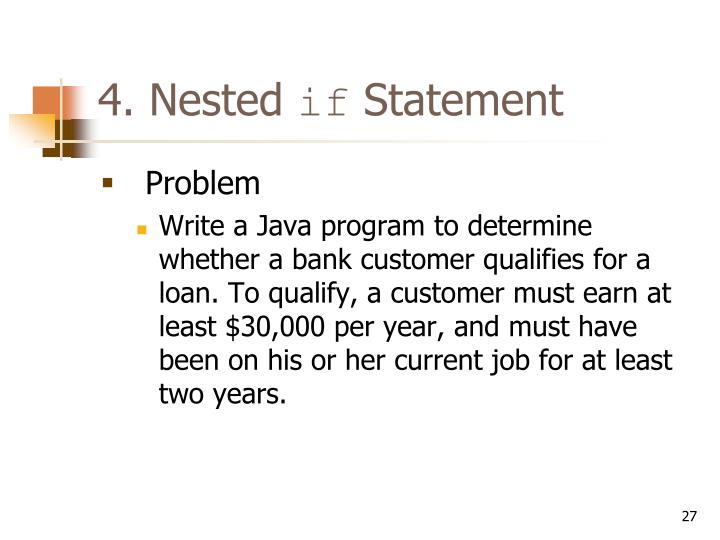 4. Nested