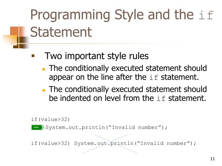 Programming Style and the