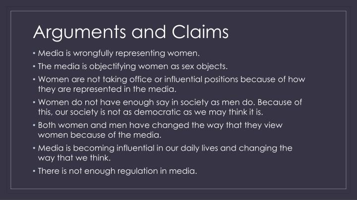Arguments and Claims
