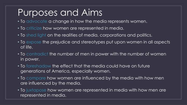 Purposes and Aims