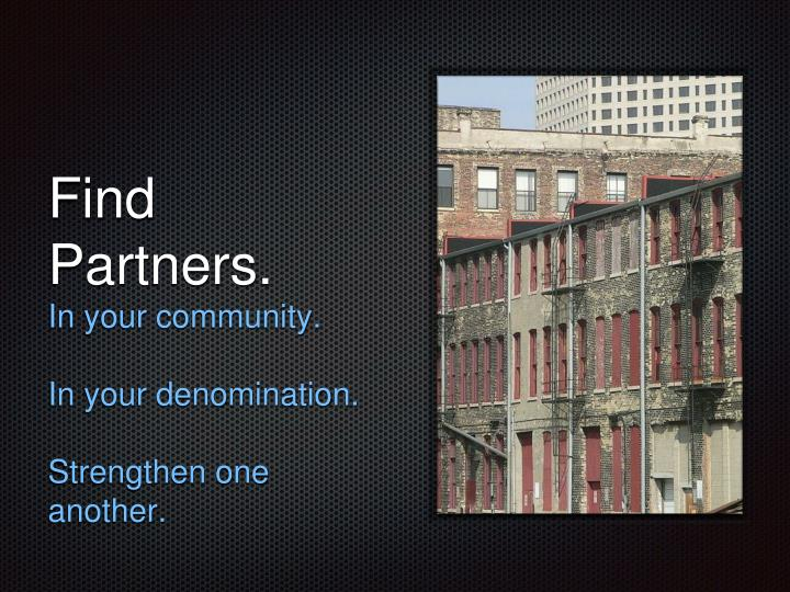Find Partners.