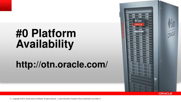 #0 Platform Availability