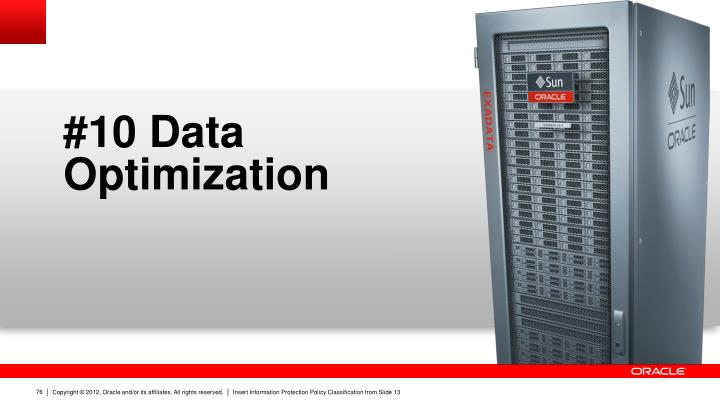 #10 Data Optimization