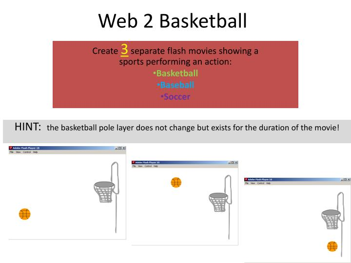 Web 2 Basketball