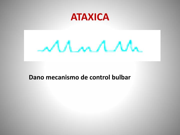 ATAXICA