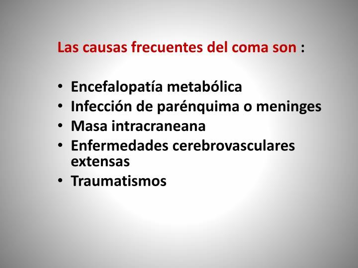 Las causas