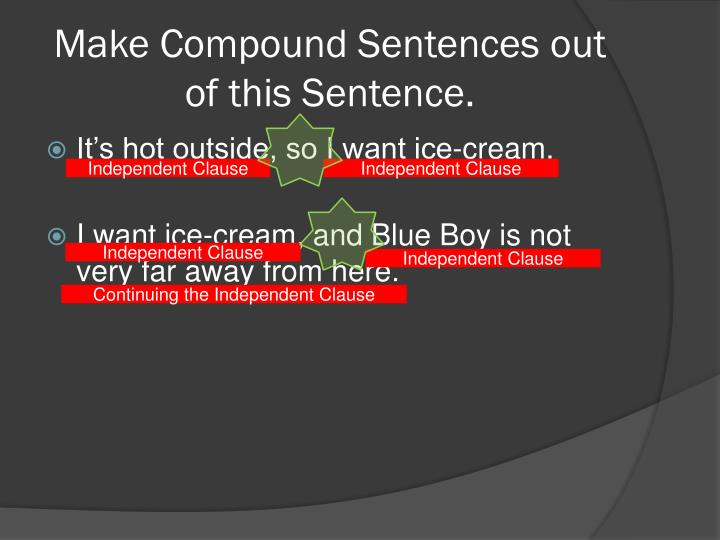 Make Compound
