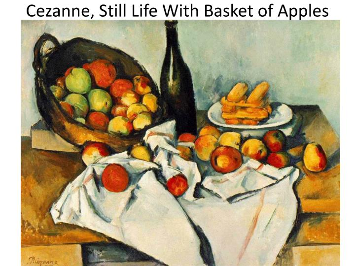 basket of apples cezanne Director: rocco cataldo writer & producer: mary kay cook dp: mike kwielford  short film inspired by paul cezanne's the basket of apples.