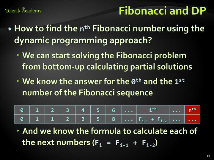 Fibonacci and DP