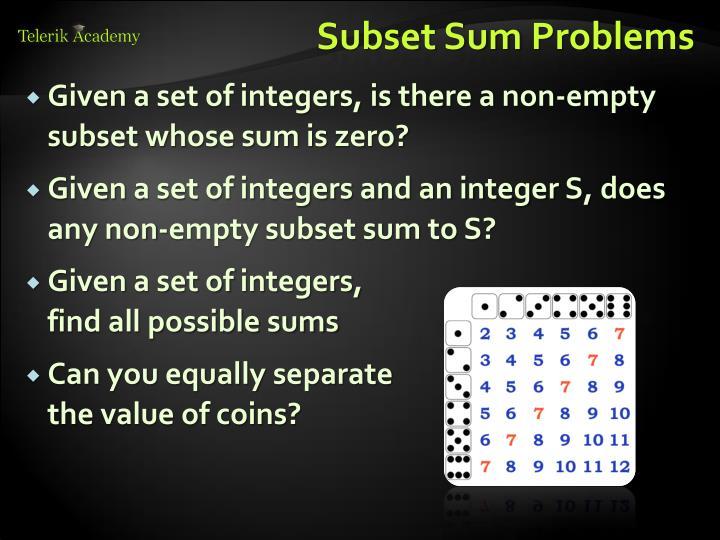Subset Sum