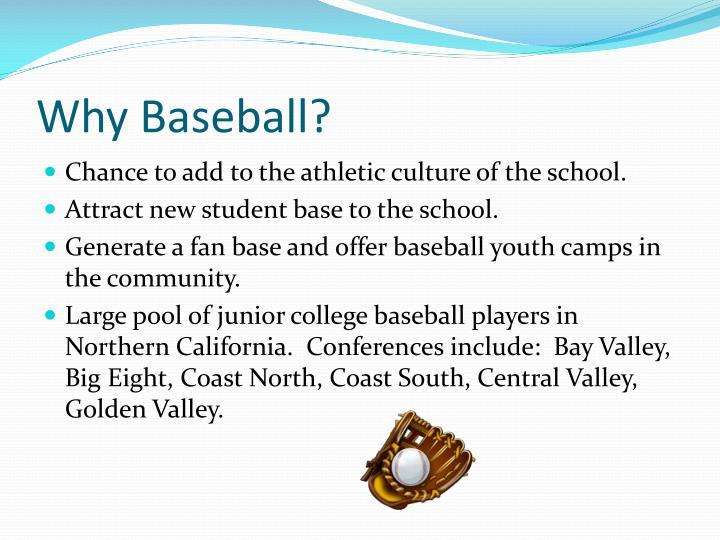 Why Baseball?