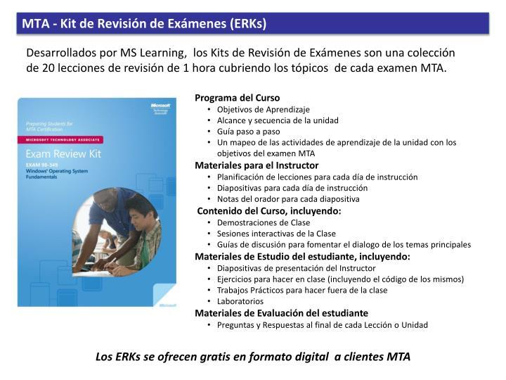 MTA - Kit de
