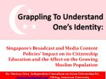 grappling to understand one s identity