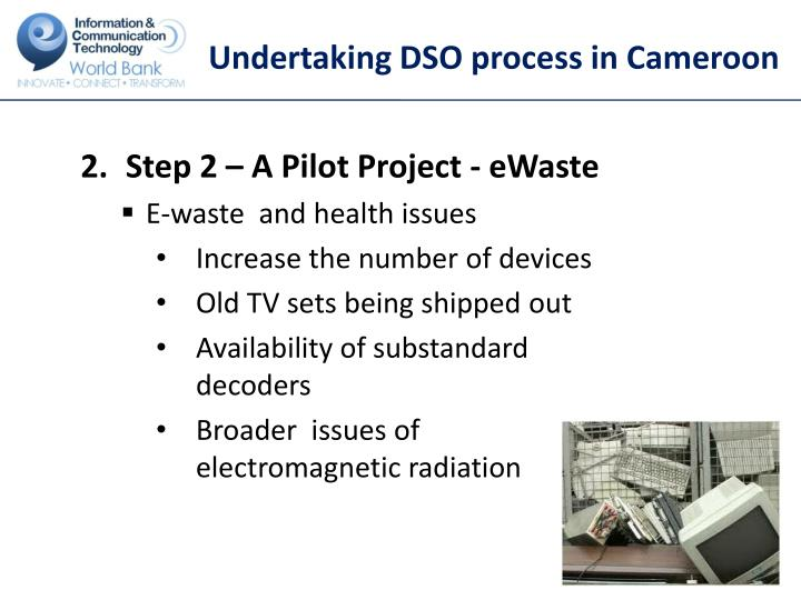 Undertaking DSO process in Cameroon