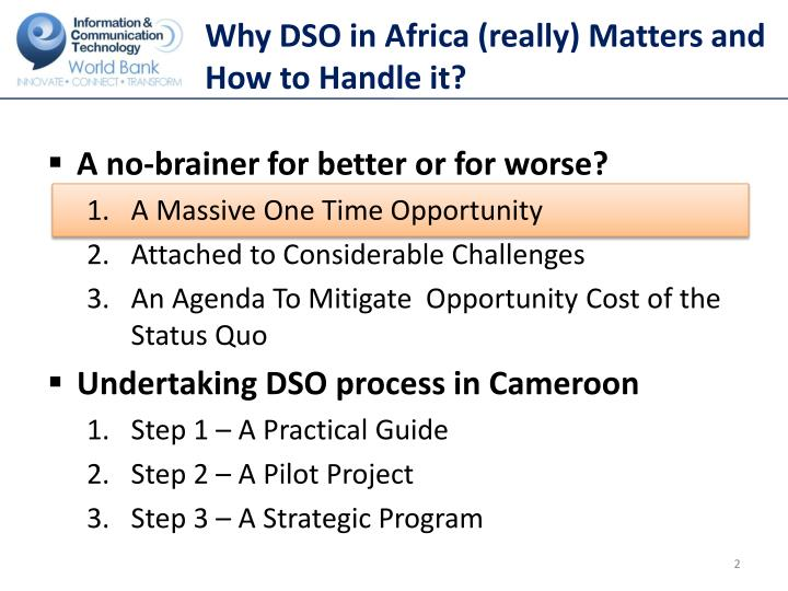 Why dso in africa really matters and how to handle it