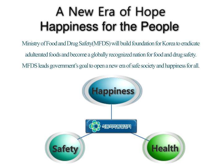 A New Era of Hope