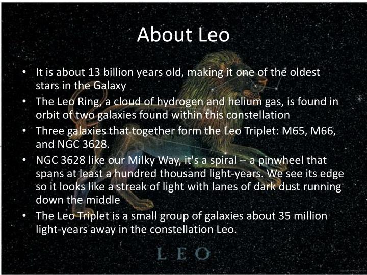 About Leo