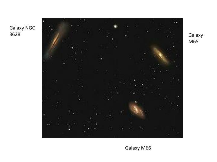 Galaxy NGC 3628