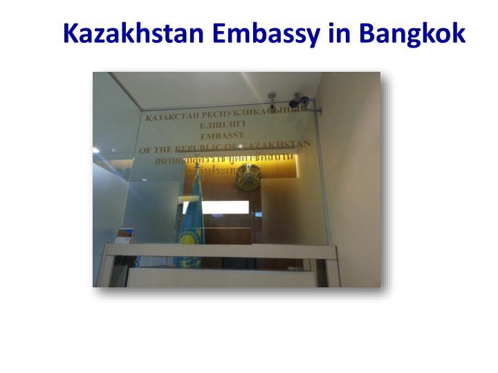 Kazakhstan Embassy in Bangkok