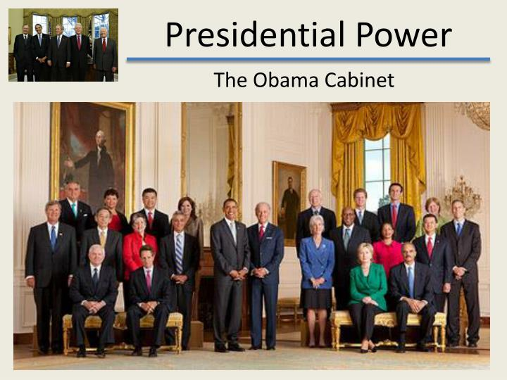 The Obama Cabinet