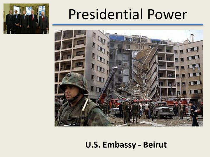 U.S. Embassy - Beirut