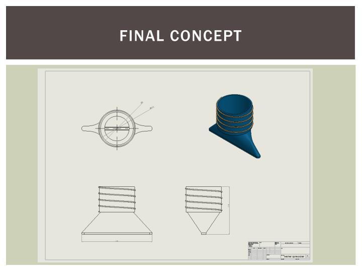 Final Concept