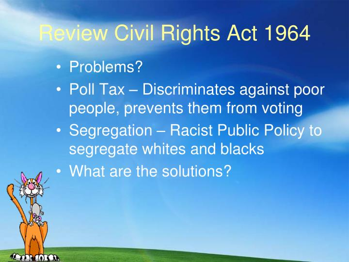 Review civil rights act 1964
