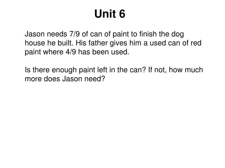 Unit 6