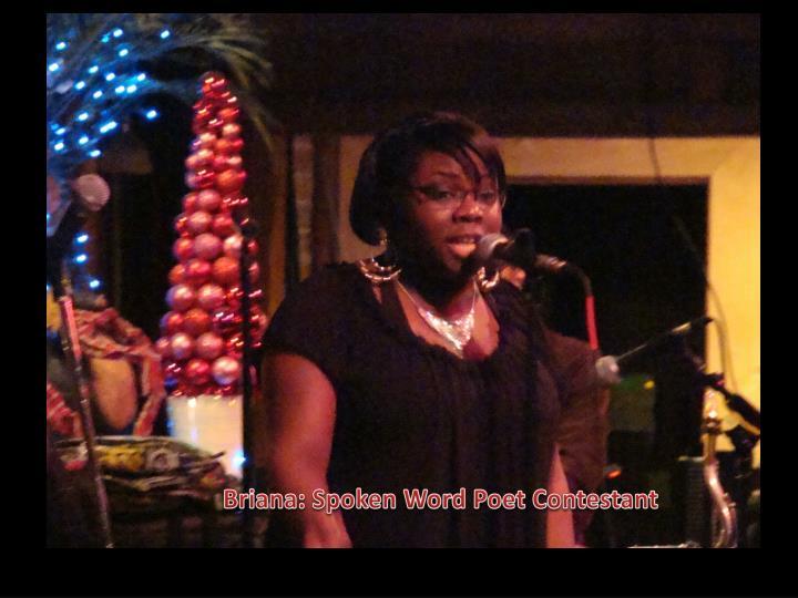Briana: Spoken Word Poet Contestant