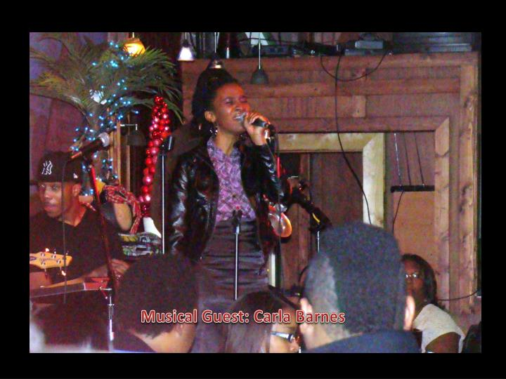 Musical Guest: Carla Barnes