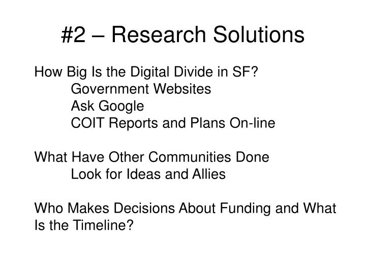 #2 – Research Solutions