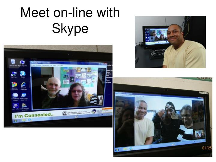 Meet on-line with Skype