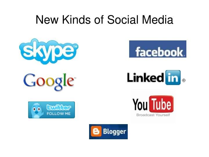 New Kinds of Social Media