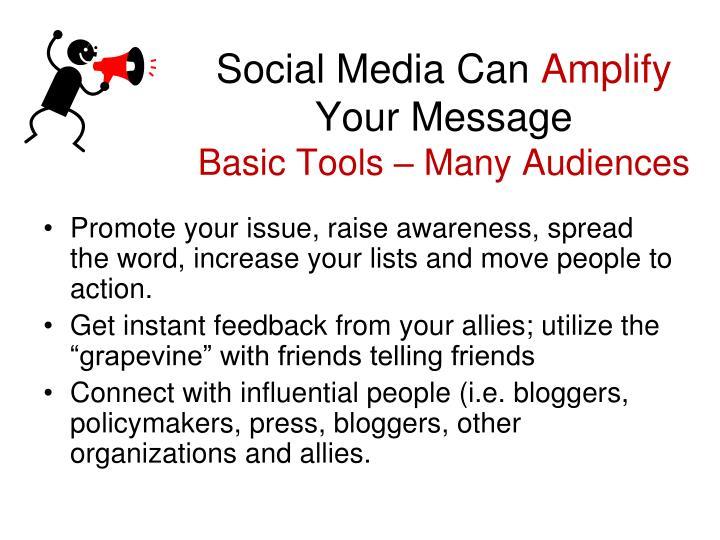 Social Media Can