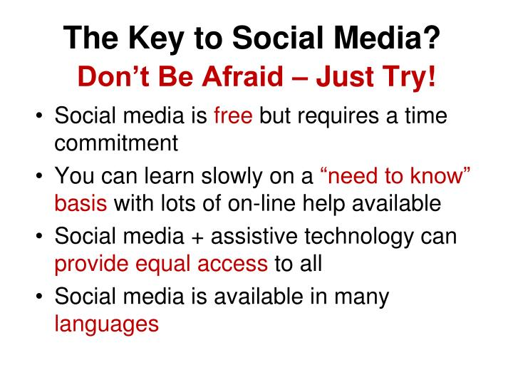 The Key to Social Media?