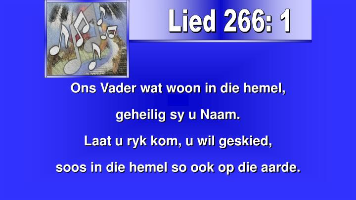Lied 266: 1