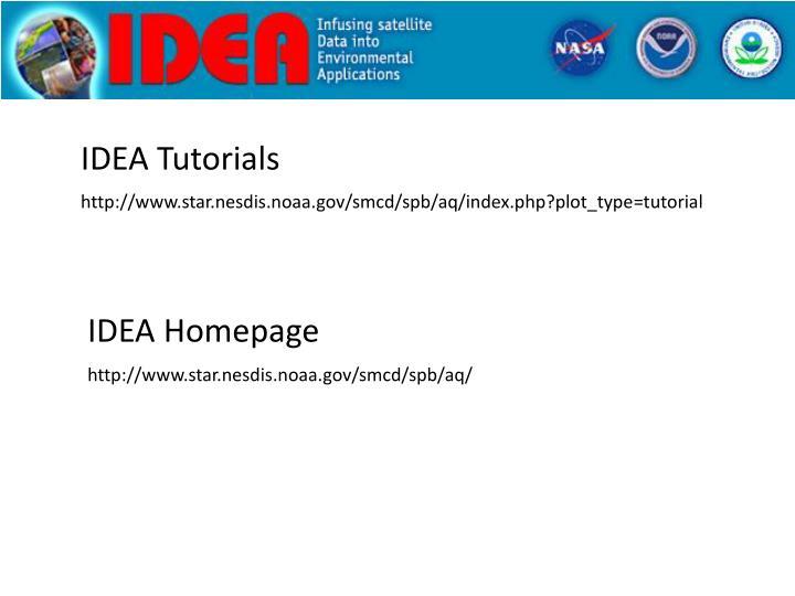 IDEA Tutorials