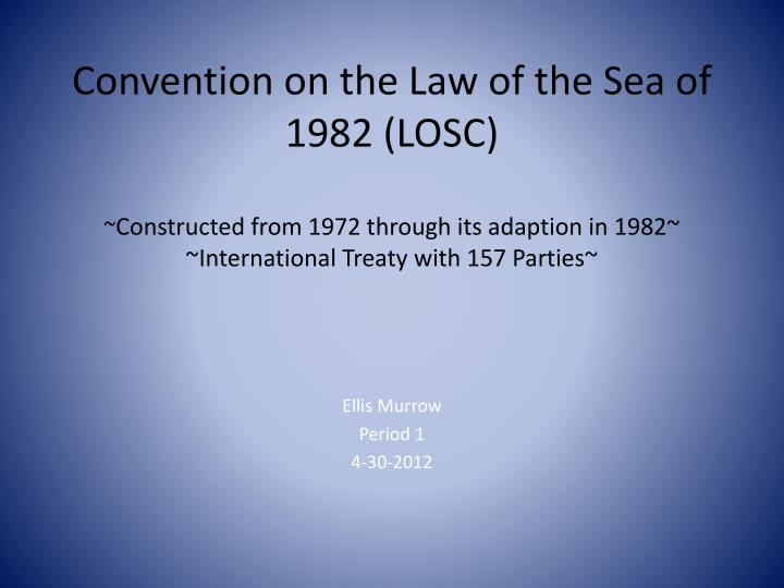 Convention on the Law of the Sea of