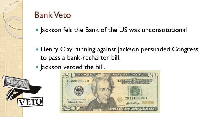 Bank Veto