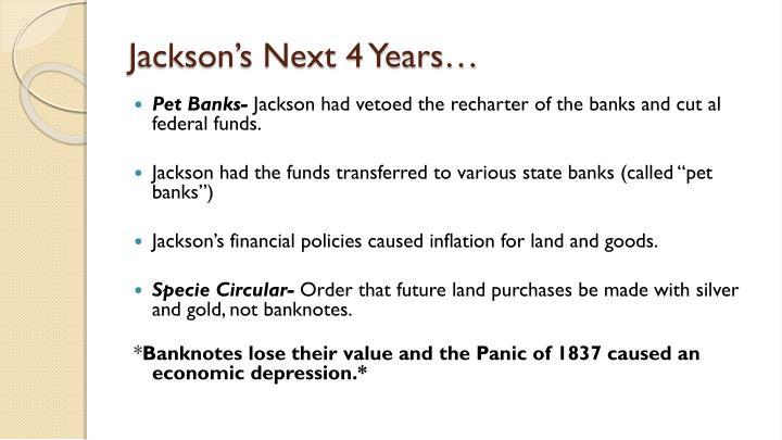 Jackson's Next 4 Years…