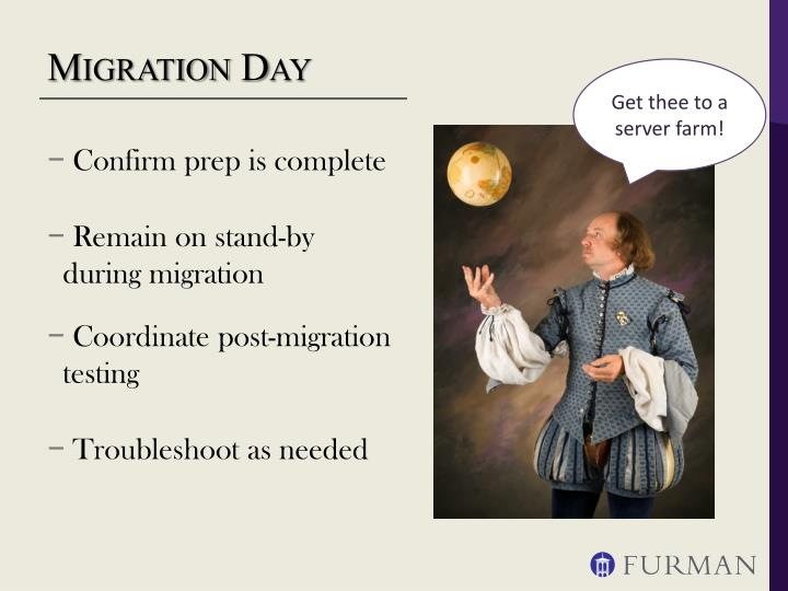 Migration Day