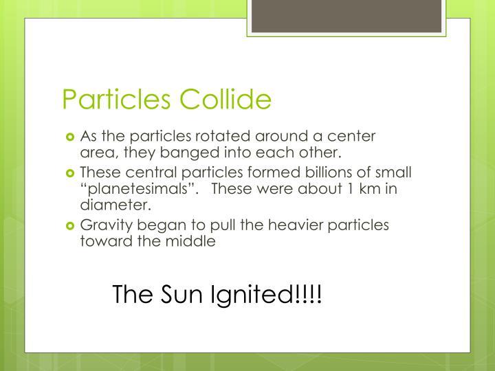 Particles Collide