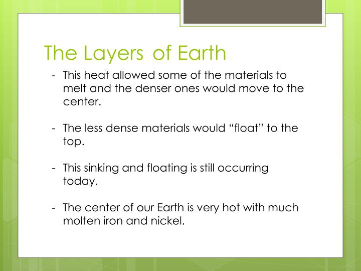The Layersof Earth