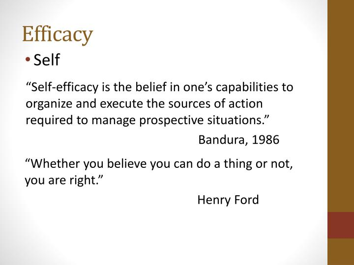 Efficacy
