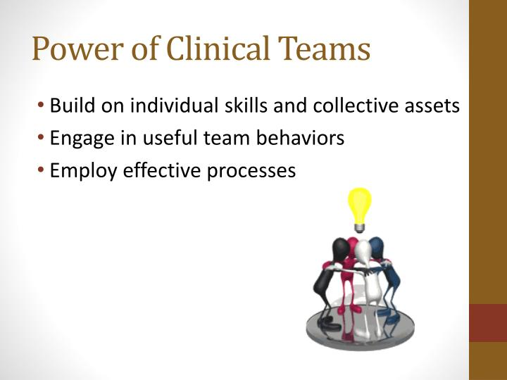 Power of Clinical Teams