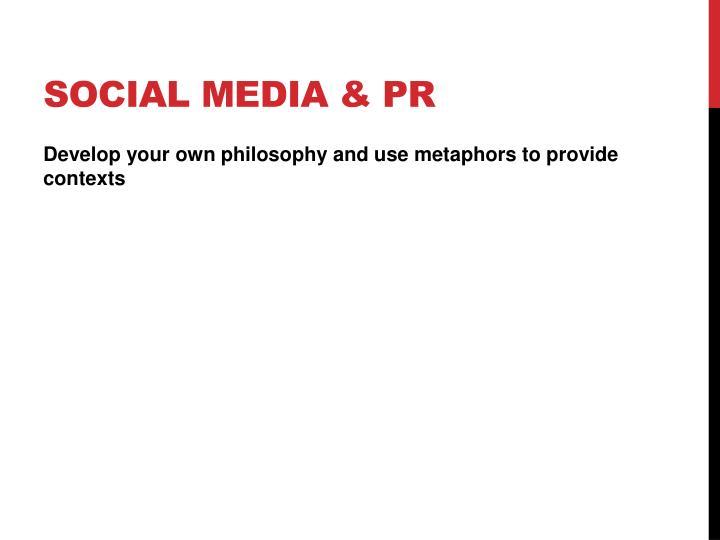 Social Media & PR